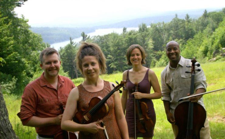 Apple Hill String Quartet press photo