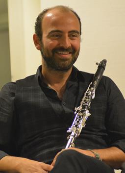 Kinan Azmeh, clarinet