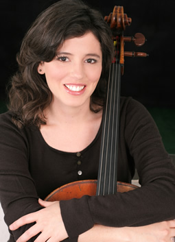 Louise Dubin, cello