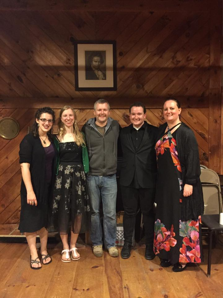 Fellowship Quartet, Laura, Cassidy, Jacob, And Emma, With Mike Kelley