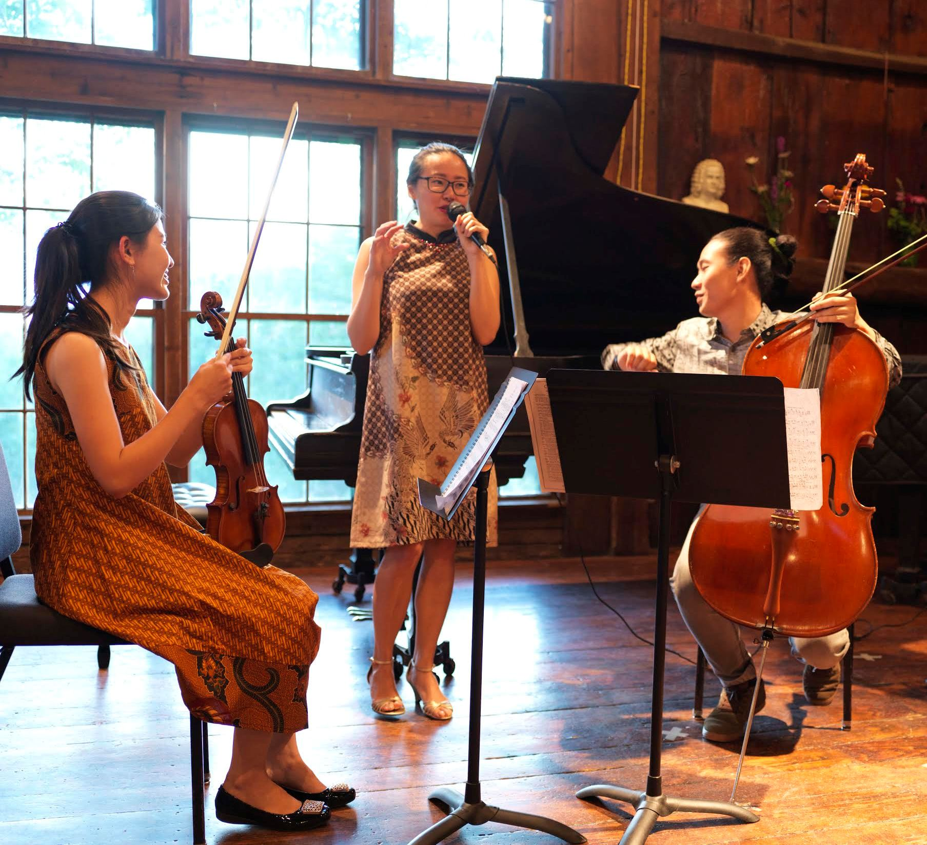 Summer Gala Performers Cascade Trio From Indonesia