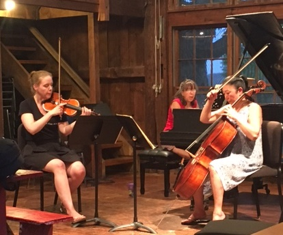 Session III Faculty Heather, Jeanie, And Pei--Ravel Trio