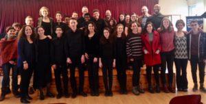 Students at Hassadna Conservatory Jerusalem 2018