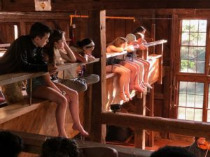 Apple Hill Concert Barn audience, balcony