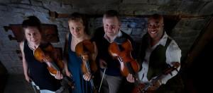 Apple Hill String Quartet in Concert Barn