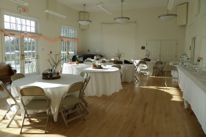 Facilities Rental-Hoffman decorated for a wedding