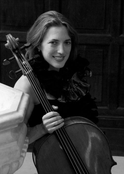 Jennifer Morsches, cello