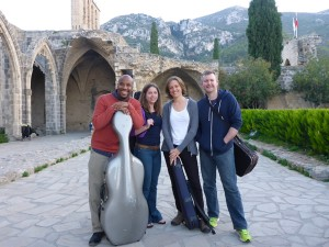 Apple Hill String Quartet on Tour