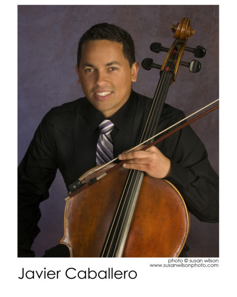 Javier Caballero, cello