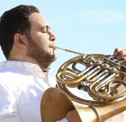 Amr Selim, French horn