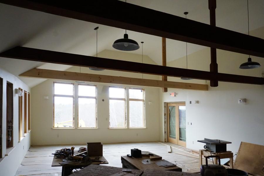Green Room With Door To Concert Barn